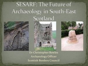South East Scotland Archaeological research framework