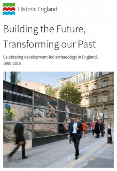 Front cover - Building the Future, Transforming our Past