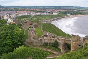 Scarborough Castle, N. Yorkshire. Permission: N. Yorkshire CC, G Falkingham.